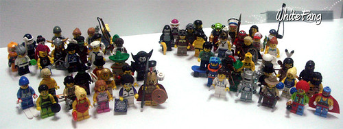 Custom minifig complete lego minifig series up to 4