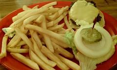 Good, old fashion comfort food (HeadGEAR56) Tags: food fries hamburger cantuckeediner