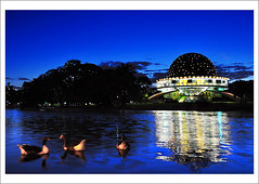 Partiendo hacia Argentina... [El Planetario] (B'Rob) Tags: city travel blue light sunset cloud lake streetart color art tourism argentina true azul architecture night lago atardecer photography noche photo duck twilight arquitectura nikon paradise symbol buenos aires picture ciudad tourist colores best most cielo pato wikipedia eden crepusculo paraiso planetario porteño bsas mejor galileo porteña galilei 18200mm d90 brob brobphoto
