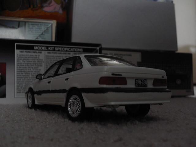 ford model kit 1986 taurus 86 125