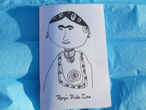 R's Frida Kahlo Party Zine - Cover