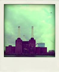 Poladroid_08 (Francesco Tenuta) Tags: london pinkfloyd battersea batterseapowerstation poladroid