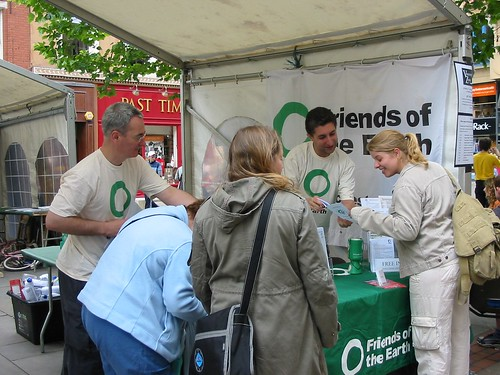 Volunteering Zone stall - June 2004