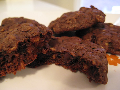 ChocolateCherryOatmealCookies
