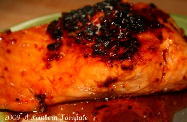 Honey Chipotle Glazed Salmon — A Southern Fairytale_1300073404276