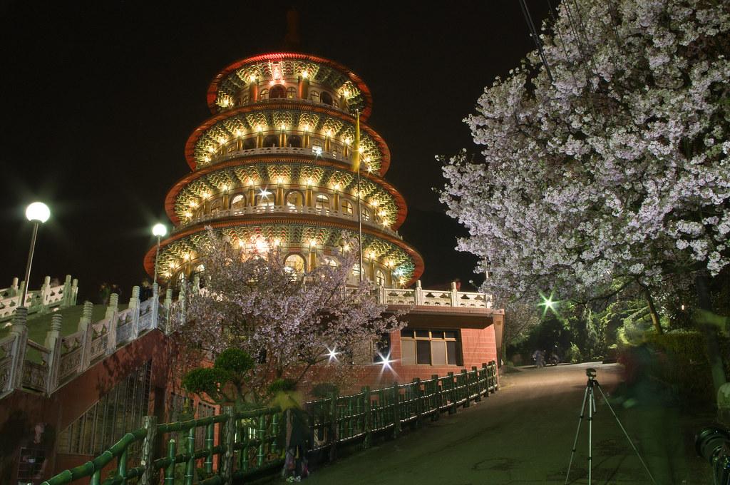 3/13 PFC新手團天元宮夜拍~~傷眼也請見諒