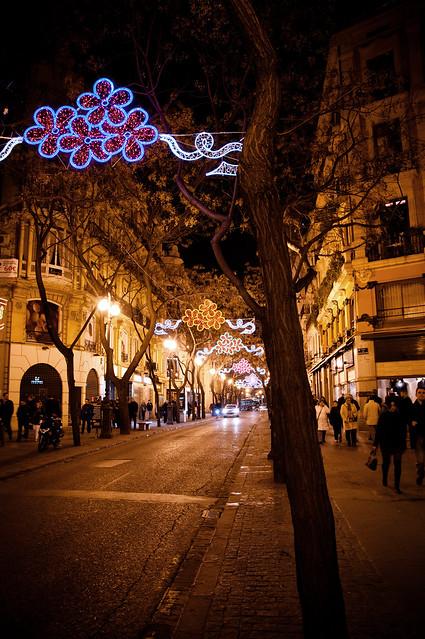 Per le strade di Valencia...