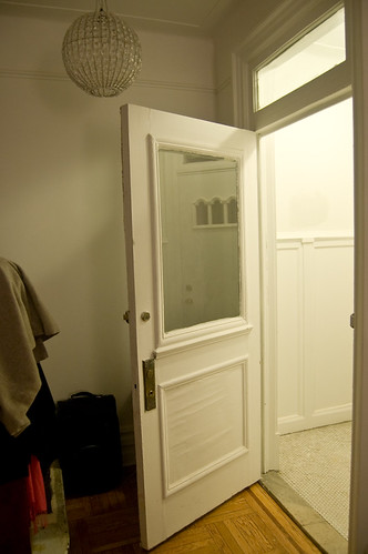 vestibule - before