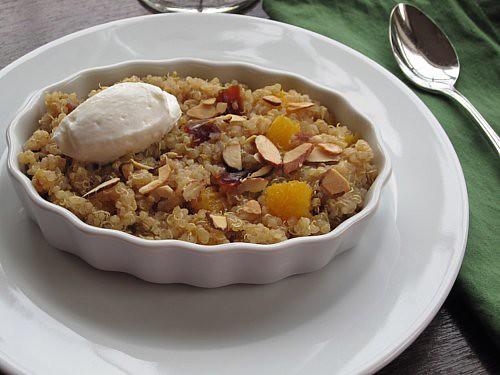 Orange & Date Dessert Quinoa
