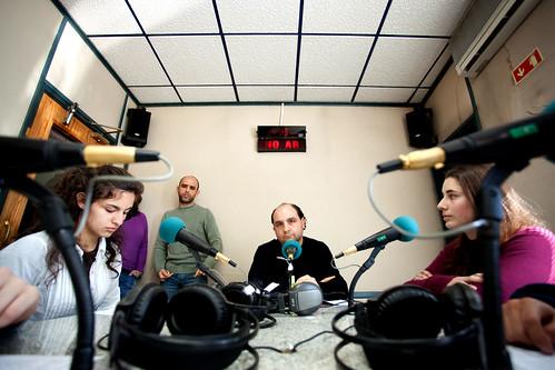 Reportagem na Rádio Clube de Penafiel (programa escolas)