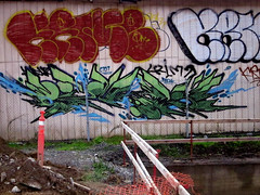Krime & Pemex (Say Cheese & Die) Tags: ca graffiti oakland bay area pemex sedek krime rekn