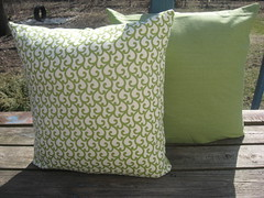 easy green pillow covers