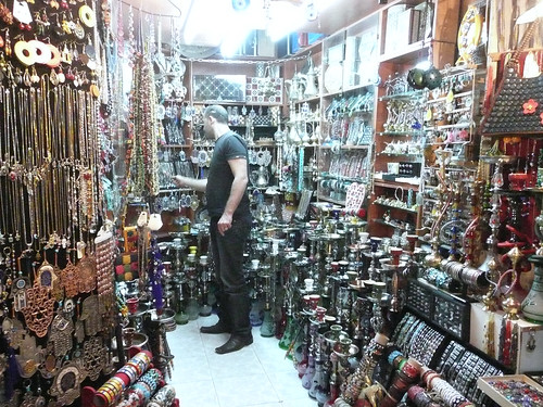 Arab bazaar in Jerusalem