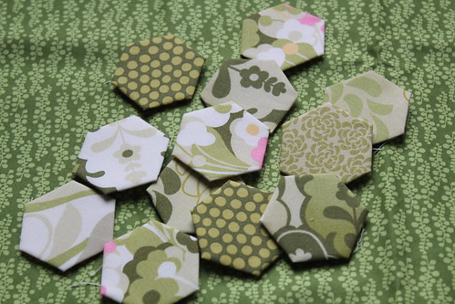 Green Hexagons