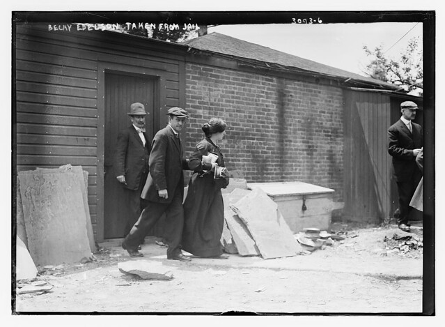 Becky Edelson [i.e., Edelsohn] taken from jail  (LOC)