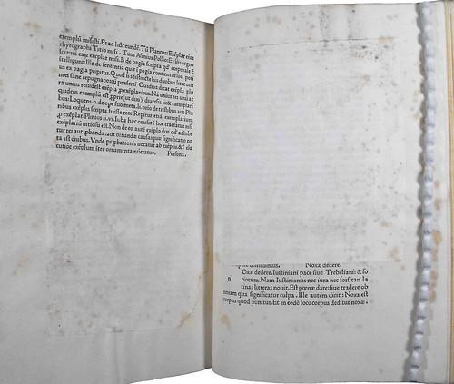 Censored or corrected text in Valla, Laurentius: Elegantiae linguae latinae