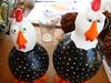 Olhares cúmplices (D'Coração by Lú Betti) Tags: cabaças porongos galinhasdangola