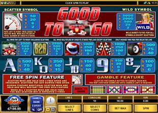 free Good to Go slot mini symbol