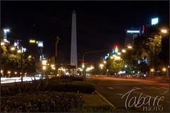 Obelisco (Tabar Neira) Tags: light argentina night luces noche nikon buenos aires obelisco tabare lighttrail valaingaur