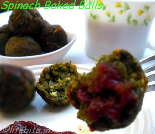 Spinach Baked Balls
