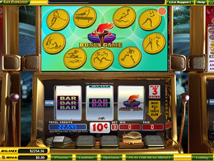 free Go for Gold slot game symbols