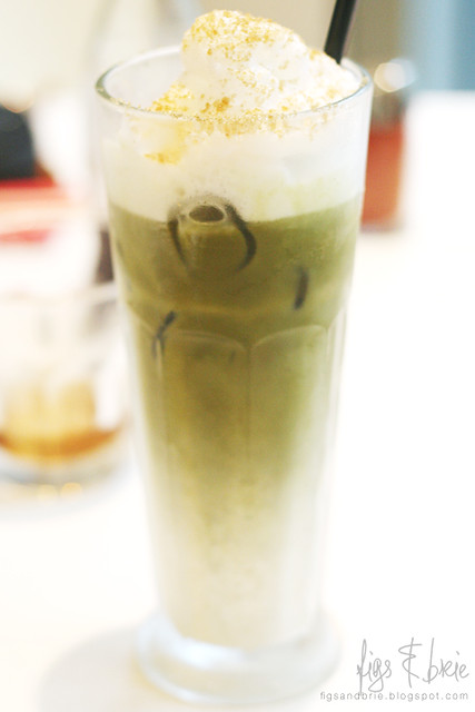 Green tea latte, Ichi-ban Boshi