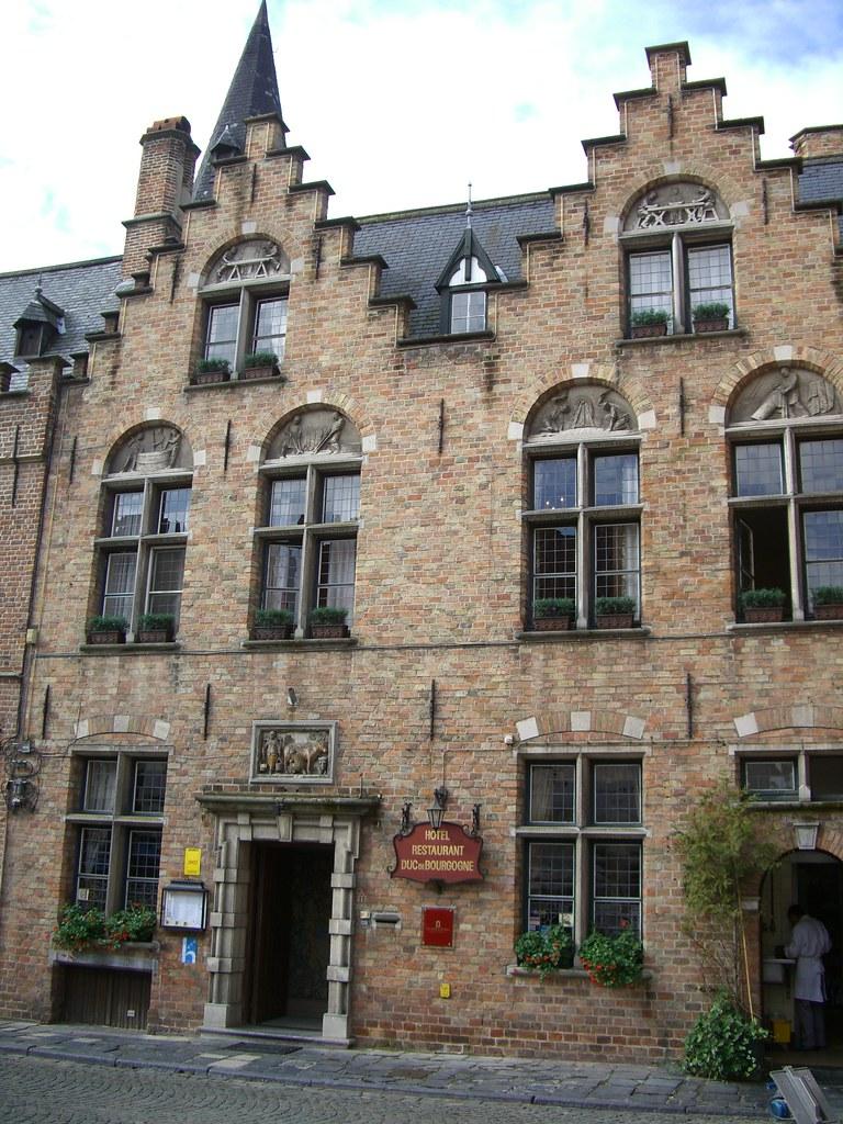 Bruges, Hôtel des ducs de Bourgogne