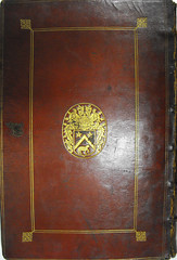 Jean-Baptiste Colbert: Binding of Hippocrates; Galen: Works (University of Glasgow Library) Tags: specialcollections provenance jeanbaptistecolbert universityofglasgowlibrary bibliotecacolbertina