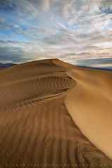 Satin Sands - Mesquite Dunes, Death Valley National Park, California (Jim Patterson Photography) Tags: california morning travel light usa clouds sunrise landscape outdoors sand desert patterns dunes scenic stovepipewells deathvalleynationalpark inyocounty jimpattersonphotography jimpattersonphotographycom seatosummitworkshops seatosummitworkshopscom