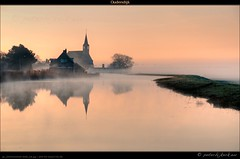 Oudendijk @ dawn (Peterbijkerk.eu Photography) Tags: orange mist netherlands fog sunrise kerk hdri noordholland oudendijk nld landscapephotography landschapsfotografie zonsopkomst naturepoetry peterbijkerkeu westfrieseomringdijk saariysqualitypictures 201103241