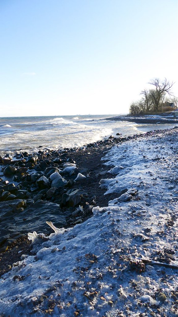 Lake Superior in March 3