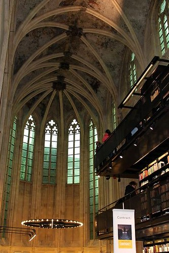 inside view of most beautiful bookshop in the world