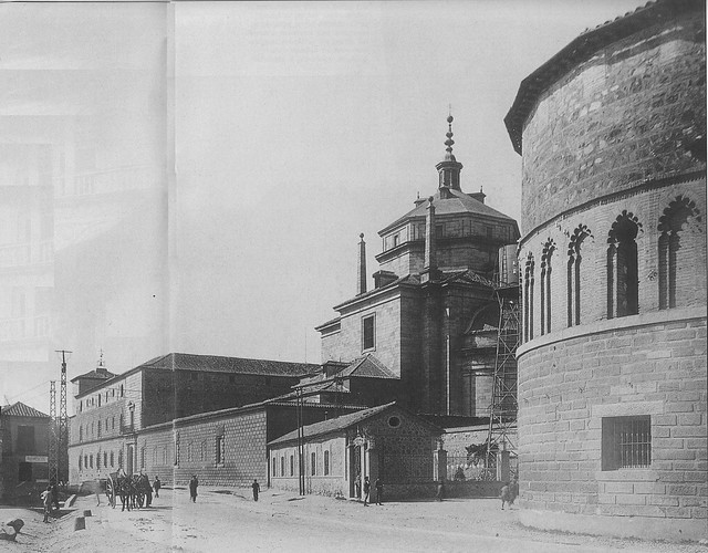 Hospital Tavera a comienzos del siglo XX. Foto Rodríguez