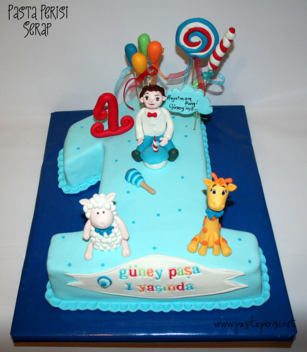 LAMBS CAKE -GÜNEY 1ST BIRTHDAY