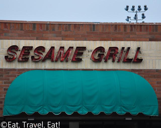 Sesame Grill Exterior