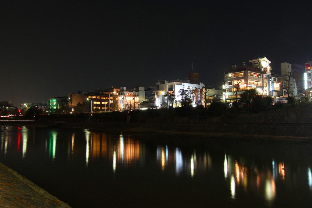 Kamogawa Night Photo (2)