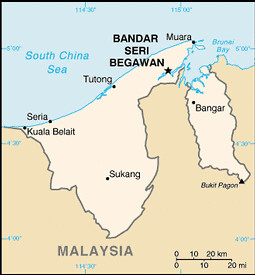 carte Brunei