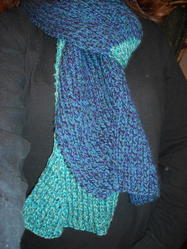 Pattern #11 Wave Scarf