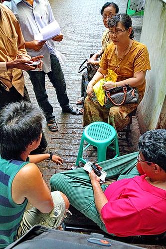 Streetlife in Rangoon
