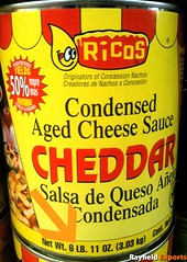 Ricos Cheese Sauce (Rayfield Exports) Tags: cheese sauce aged condensed cheddar ricos 6lb