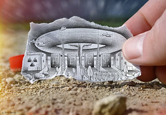 Pencil Vs Camera - 50 (Ben Heine) Tags: news macro art mushroom toxic ecology japan danger photography tokyo asia exposure technology power risk accident drawing decay mixedmedia finger inspection explosion creative cleanup radiation science hiroshima helicopter tsunami help disaster heat area photoediting series worker isolation sos behind fusion emergency suffering blast japon fukushima nagasaki fuel reactor victims champignon overheat hydrogen nuclearplant 2012 catastrophe casualties generalelectric chernobyl endoftheworld earhtquake plutonium iodine postprocessing dammage fission nuclearenergy actualit tepco theartistery iode benheine tremblementdeterre nergienuclaire equipmentfailure pencilvscamera