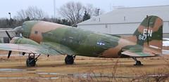 DC-3 N88874 (707-348C) Tags: dc3 oshkosh usa baslerramp wi propliner 201101 n88874