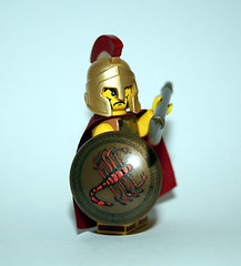 Scorpion Warrior (JasBrick) Tags: greek lego scorpion minifig custom spartan athenian