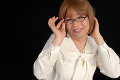 Sexy Working Girl 007 (MISAKI YOSHIDA(MISAKKY)) Tags: sexy glasses bob skirt blouse tgirl straight crossdresser workinglady メガネ 女装 transvestile タイトスカート ボブカット 白ブラウス ol