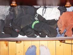 A picture of hell .. (lasseman92) Tags: broken stockings sport socks out big sock toe hole bad dirty holes holy odd terrible worn torn heel cry hobo hollow ragged tattered wornout holey inherited froozen coold holysock sockholes