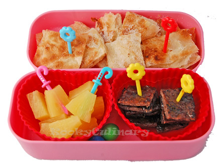 Bento #139 - Squares and More