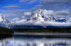 Mount Moran (MarvHansen) Tags: mountain nikon d200 mountmoran tetons moran hdr grandtetonnationalpark jacksonlake