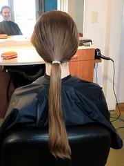 long hair…
