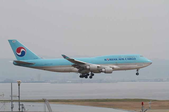 Korean Air Cargo B747-400F