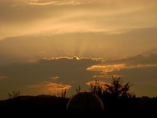 Museo del Balì al tramonto